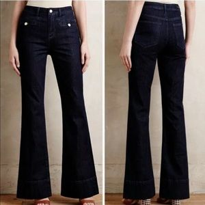 Anthropologie Pilcro Superscript Flare Jeans 27
